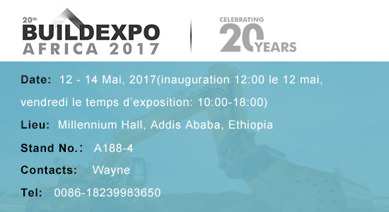 Liming Heavy Industry vous invite à Buildexpo Africa Ethiopia 2017